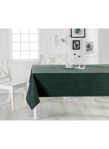 Denizli Concept Venedik Leke Tutmaz Masa Örtüsü 160x220 cm Yeşil